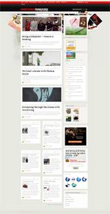 underworldmagazinesのWEBデザイン