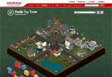 Honda Toy TownのWEBデザイン