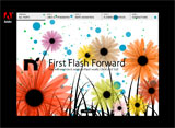 First Flash ForwardのWEBデザイン
