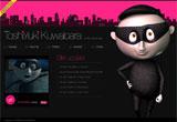 TOSHIYUKI KUWABARA -online show case-のWEBデザイン