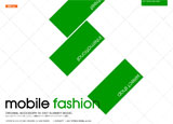 au : mobile fashion 2007 SUMMER MODELのWEBデザイン