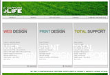 サッポロライフプロジェクトのWEBデザイン