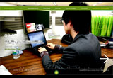 RECRUITING 2008 : grow beacon, grow togatherのWEBデザイン
