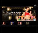 THE AXE EFFECTのWEBデザイン