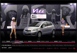 自動車・バイク:Vitz Girls Collection