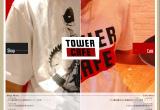 TOWER CAFEのWEBデザイン