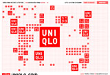 UNIQLO_GRIDのWEBデザイン