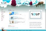 DESIGN SOUP(デザイン スープ)のWEBデザイン