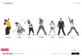 Join the Beat.|SoftBankのWEBデザイン