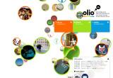 olio by OLYMPUSのWEBデザイン