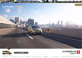 シトロエン C4 ピカソ スペシャルサイトのWEBデザイン