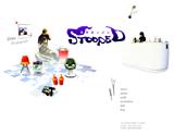 STOOPEDのWEBデザイン