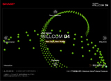 Ultra Mobile WILLCOM D4のWEBデザイン