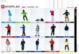 ファッション:UNIQLO MIXPLAY