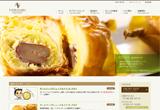 菓子工房 T.YOKOGAWAのWEBデザイン