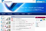 株式会社 東京金融取引所のWEBデザイン