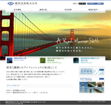 橋梁技術株式会社のWEBデザイン
